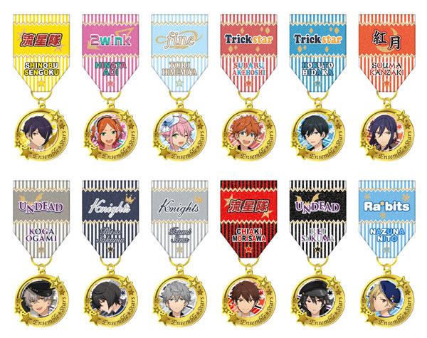 【あんスタ新グッズ】デコレーションメダル12種