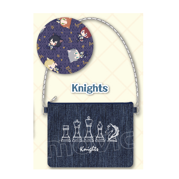 あんさんぶるスターズ! デニムクラッチバッグ/Knights