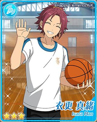 [バスケ練習]衣更真緒