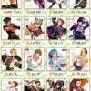 【あんスタ新グッズ】箔押しサイン入りのビジュアル色紙コレクション3・4予約開始!